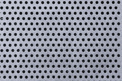 Abstract Metal Hole Background Royalty Free Stock Photo