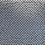 Abstract metal material rhombuses pattern Stock Images
