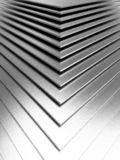 The abstract metal pattern background. 3D illustration stock images