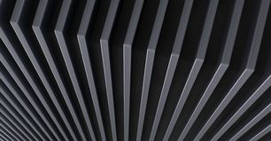 The abstract metal pattern background. 3D illustration. The abstract metal pattern background royalty free stock images