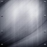 Abstract metal plate background Royalty Free Stock Images