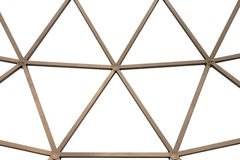 Abstract metal roof structure and background royalty free stock image