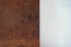 Abstract metal rust Stock Photography