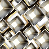 Abstract metal seamless pattern Stock Image