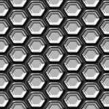 Abstract metal seamless pattern Royalty Free Stock Photo