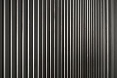 Abstract of metal sheet in vertical line Stock Photography