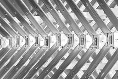Abstract metal spine Royalty Free Stock Image