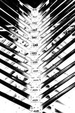 Abstract metal spine Royalty Free Stock Photography