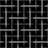 Abstract metal steel weave Royalty Free Stock Image