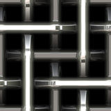 Abstract metal steel weave Royalty Free Stock Photos