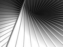 Abstract metal stripe Stock Photo
