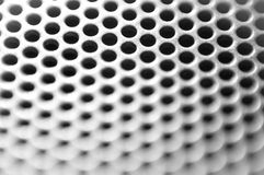 Abstract metal structure. Abstract metal hive structure background in black and white Royalty Free Stock Photo