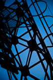 Abstract metal structure Stock Photography
