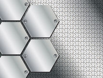 Abstract metal texture background design Royalty Free Stock Photography
