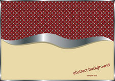 Abstract metallic background Royalty Free Stock Photos