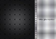 Abstract metallic background Royalty Free Stock Photos