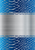 Abstract metallic background Royalty Free Stock Image