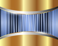 Abstract metallic background 3 Royalty Free Stock Photo