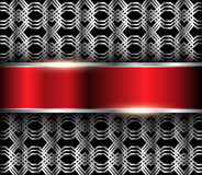 Abstract metallic background Royalty Free Stock Photography