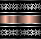 Abstract metallic background Royalty Free Stock Photo