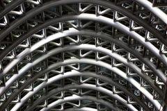 Abstract metallic background. Design reflection, shape shiny Stock Photography