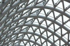 Abstract metallic background. Design reflection, shape shiny Royalty Free Stock Photography