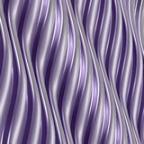 Abstract metallic background with wavy structure. Royalty Free Stock Photo