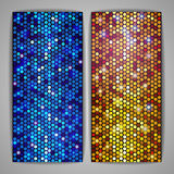 Abstract metallic disco background Royalty Free Stock Images