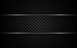 Abstract metallic frame carbon kevlar texture design template background Royalty Free Stock Photos