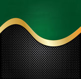 Abstract  Metallic and green borad background texture Stock Photography