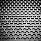 Abstract metallic grid Stock Photo