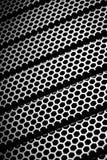 Abstract metallic grid Stock Photos
