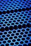 Abstract metallic grid Royalty Free Stock Image