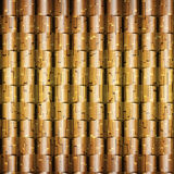 Abstract metallic seamless background Royalty Free Stock Photography