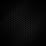 Abstract metallic steel hexagon design pattern texture background backdrop Stock Images