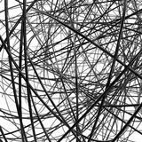 Abstract metallic wires Royalty Free Stock Images