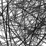 Abstract metallic wires Royalty Free Stock Photos
