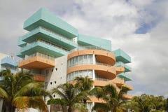 Abstract Miami Beach architecture Stock Photo