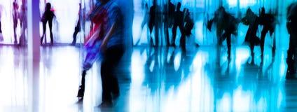 abstract miast biznesowych ludzi Obrazy Stock