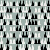 Abstract mid century polygonal pattern royalty free illustration