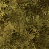 Abstract Military Camouflage Background. Made of Geometric Triangles Shapes Stock Photos
