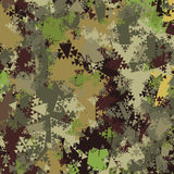 Abstract Military Camouflage Background. Made of Geometric Triangles Shapes Royalty Free Stock Images