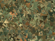 Abstract Military Camouflage Background Stock Photo