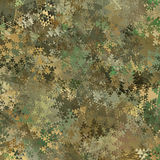 Abstract Military Camouflage Background. Made of Geometric Triangles Shapes Stock Photo