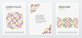 Abstract minimal geometric shapes polygon design vector backgrou vector illustration