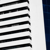 Abstract minimal style architecture. Modern building facade Royalty Free Stock Photos