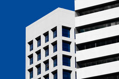 Abstract minimal style architecture. Modern building facade Stock Photography