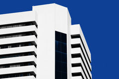 Abstract minimal style architecture. Modern building facade Royalty Free Stock Photo