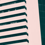 Abstract minimal style architecture. Modern building facade deta Stock Photo