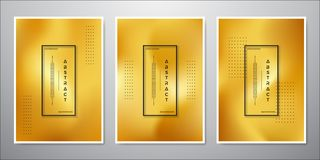 Abstract Minimalist gold background design. a collection of luxurious gold colored backgrounds